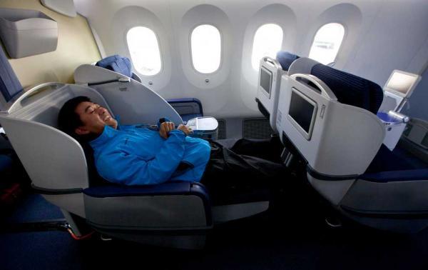 ANA najkonfornija sedista u avionu