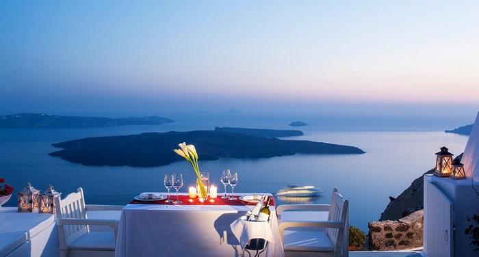 Santorini-restorani