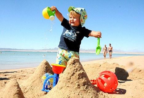 deca u pesku