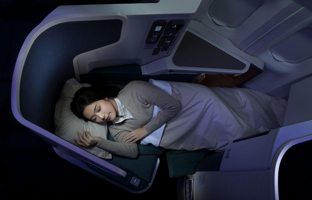 spavanje u avionu nije problem