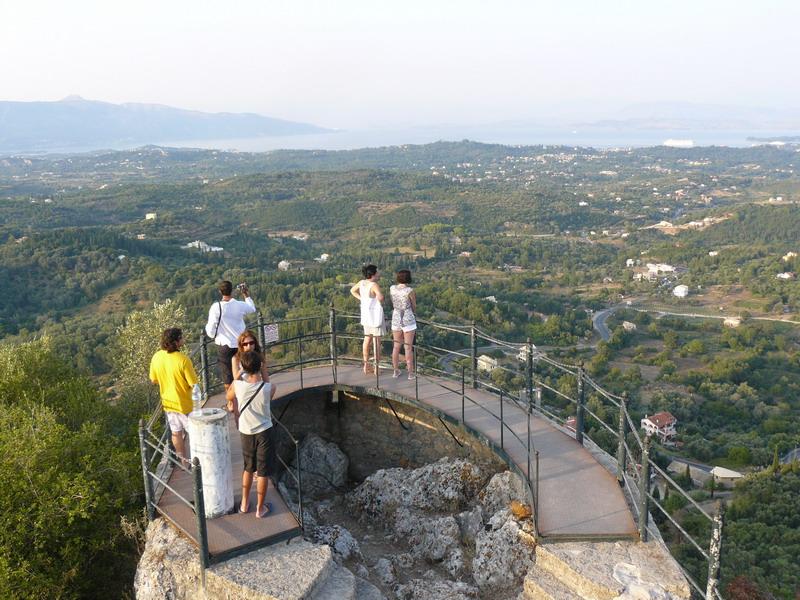 najlepse panorame grcke krf kajzerov tron