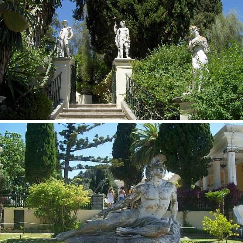 parkovi sa skulpturama na krfu