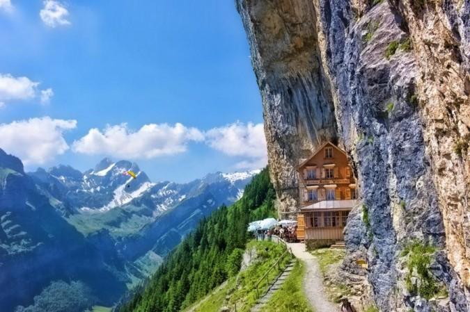 restoran na alpima