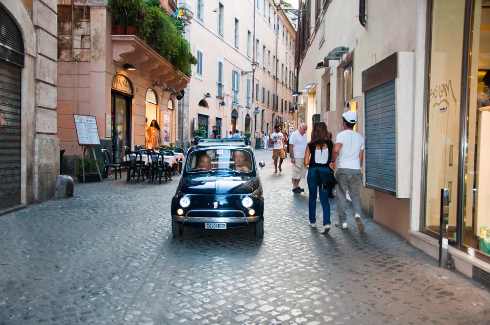 savremene ulice starog rima