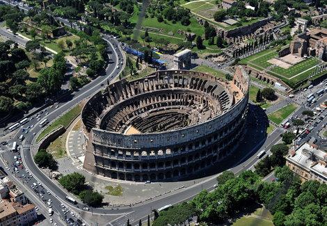 videti jednom bar rimski koloseum