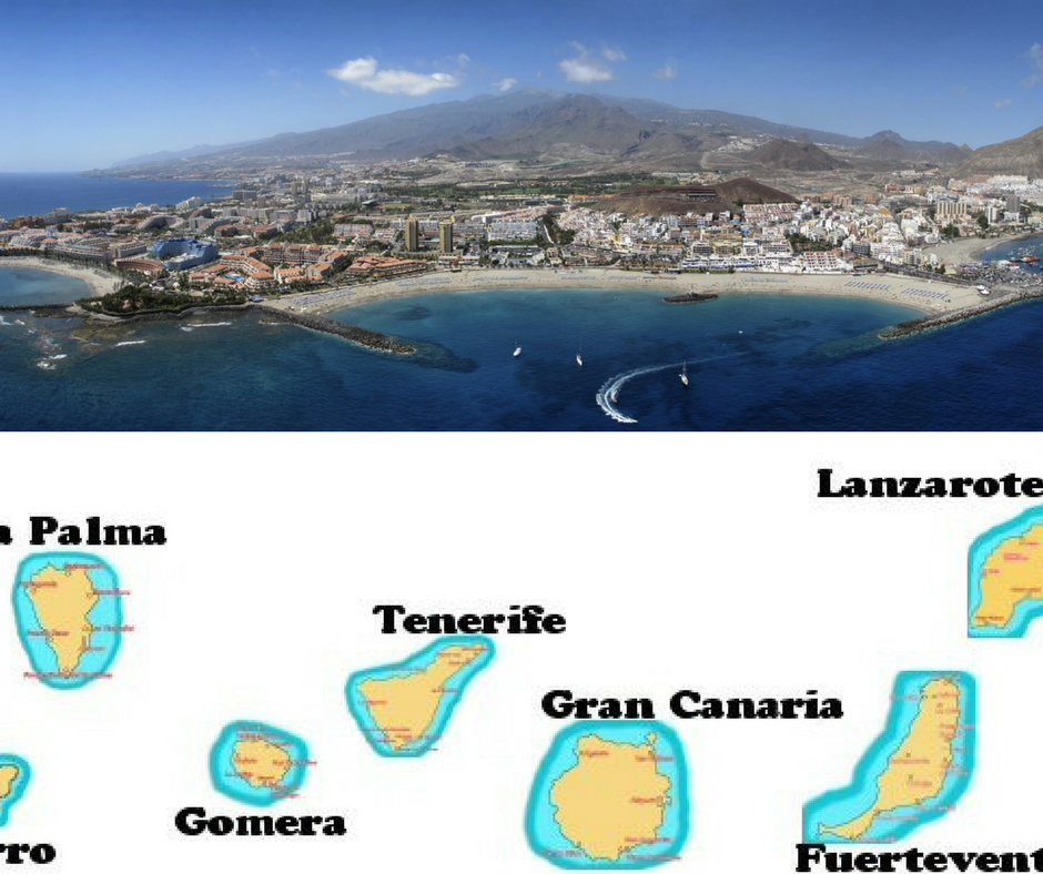 kanarska ostrva mapa Kanarska ostrva: Top 10 mesta koja treba videti i posetiti kanarska ostrva mapa