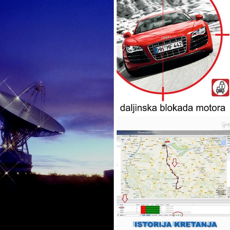 kaoje satelitsko pracenje je najbolja zastita od kradje automobila