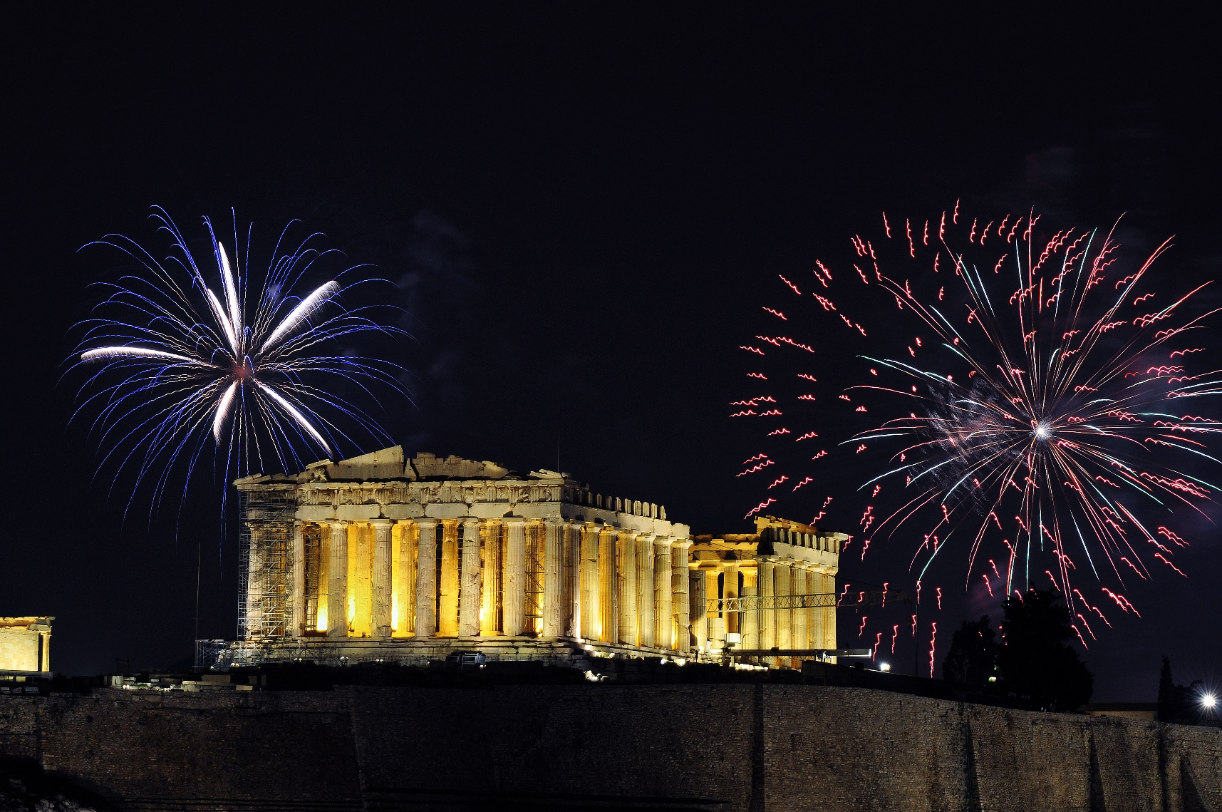 Šta raditi u Atini za Novu godinu?