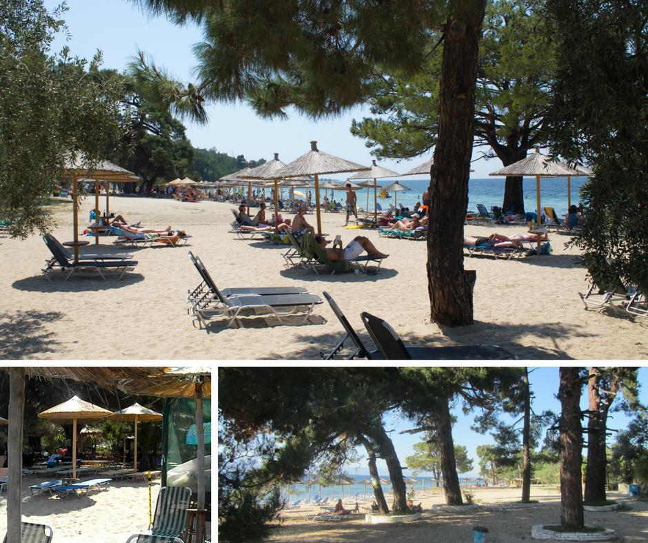 plaze u grckoj sa hladovinom
