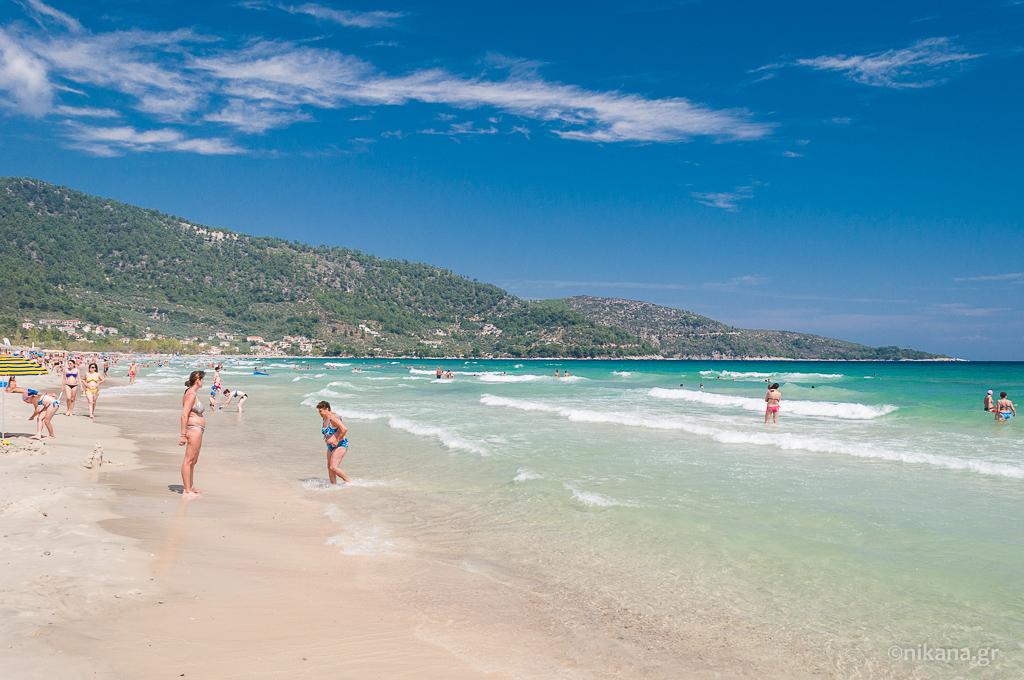 najlepse plaze za decu na tasosu