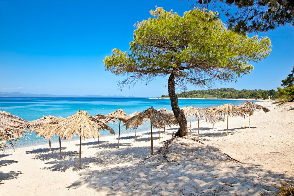 plaža pefkohori