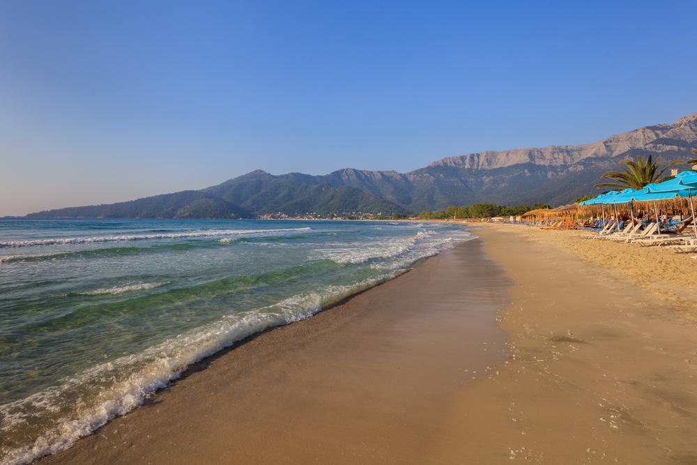 tasos plaže