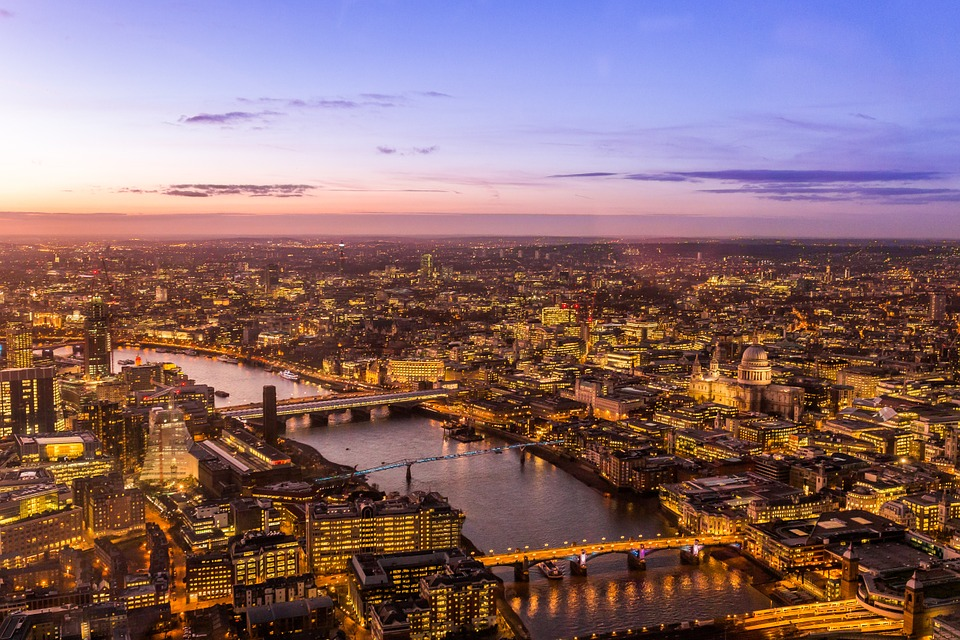 koja reka protice kroz london